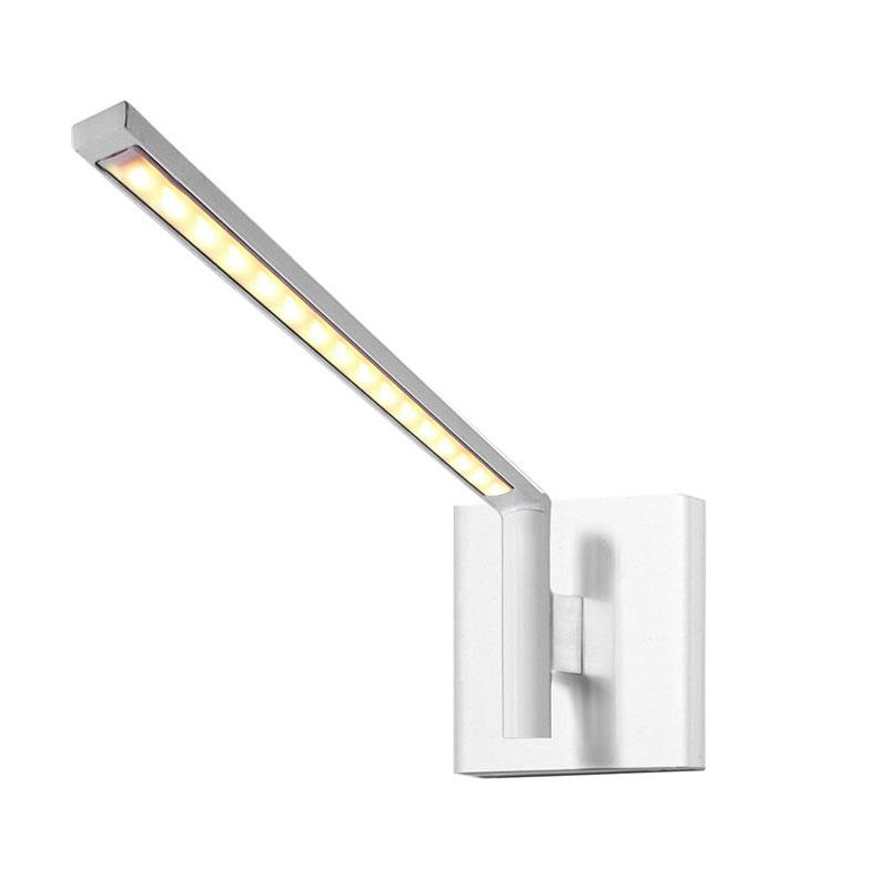 comprar lámpara de pared orientable blanca luzfin