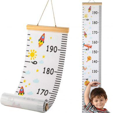 medidor niños pared