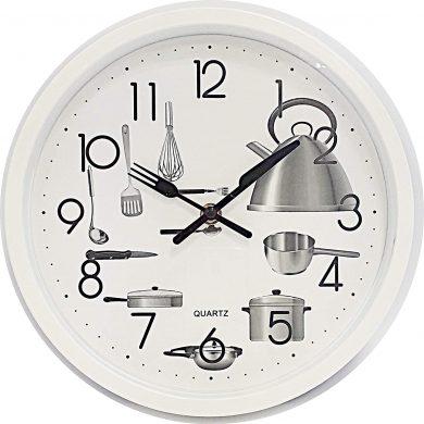 reloj pared cocina