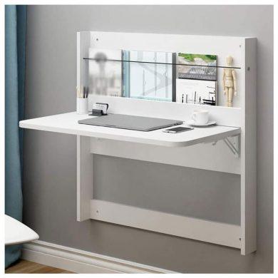 escritorio plegable pared