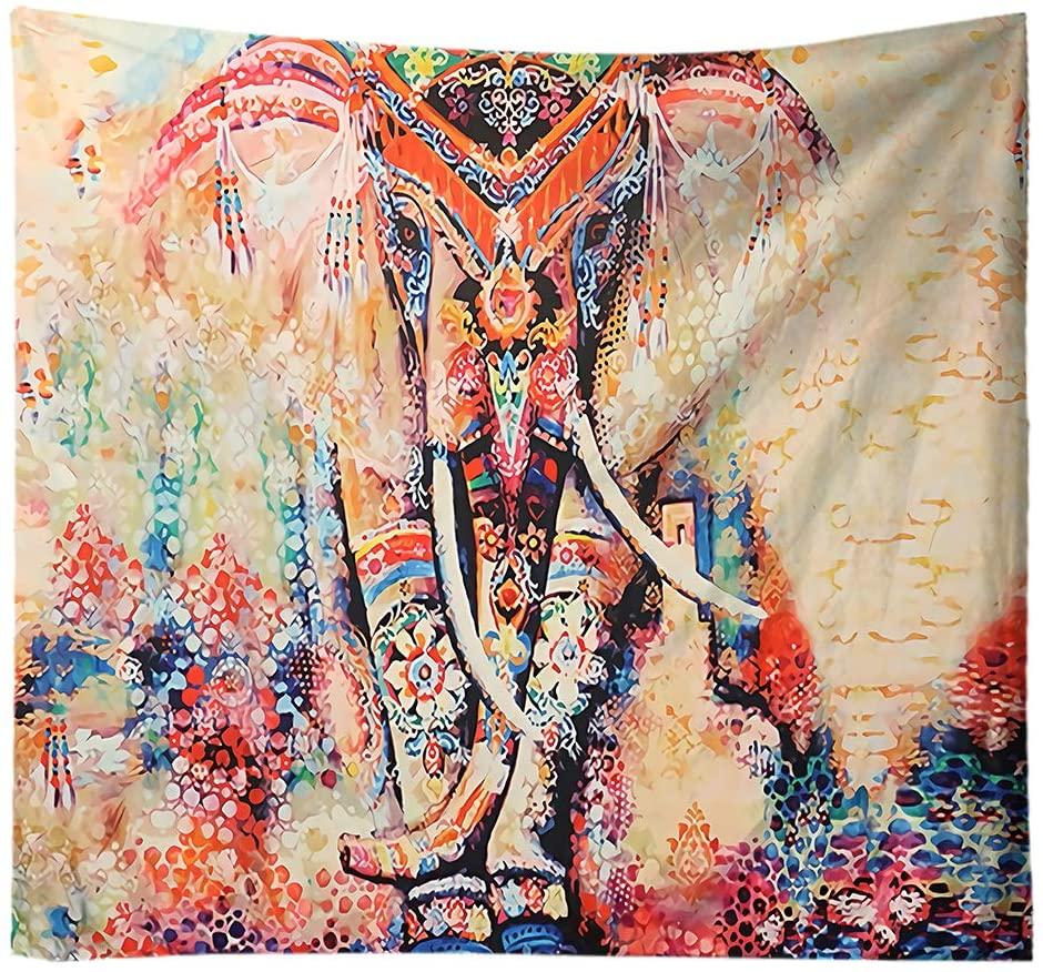 tapiz pared elefante