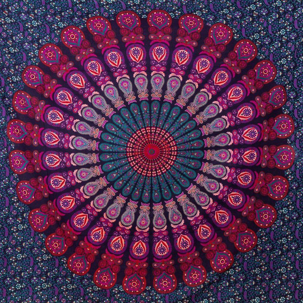 tapiz pared mandala